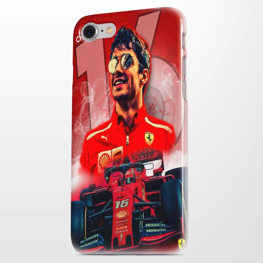 Publiassia Stamperia Charles Leclerc Cover 3 Smartphone Custodia per Tutti Modelli Apple iPhone Samsung Huawei Idea Regalo Collezione F1 Ferrari Il ...