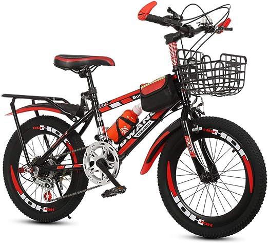 GRXXX Bicicleta de 18 Pulgadas Frenos Velocidad Bicicleta de ...