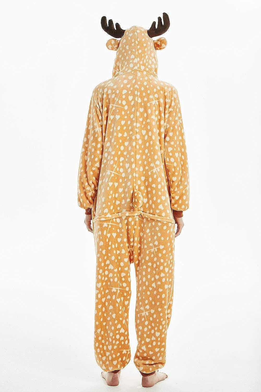 b539b20c66234 DecoBay Doux Pyjama Femme Adulte Mouton Cachemire Animal Vêtements De Nuit  Wapiti Vêtements: Amazon.fr: Vêtements et accessoires