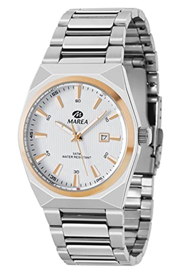 95ccd5f035bd Ref. B36111/3 Reloj Marea Caballero, caja y brazalete de acero ...