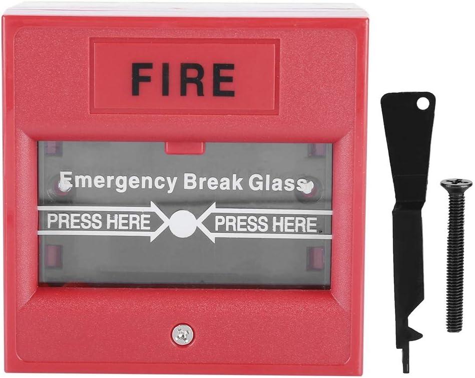 Nott/ür Freigabesicherheits Glasbruch Warnungsschalter f/ür Ausgangs//Gesch/äftssicherheits Notausgang Feueralarm Knopf
