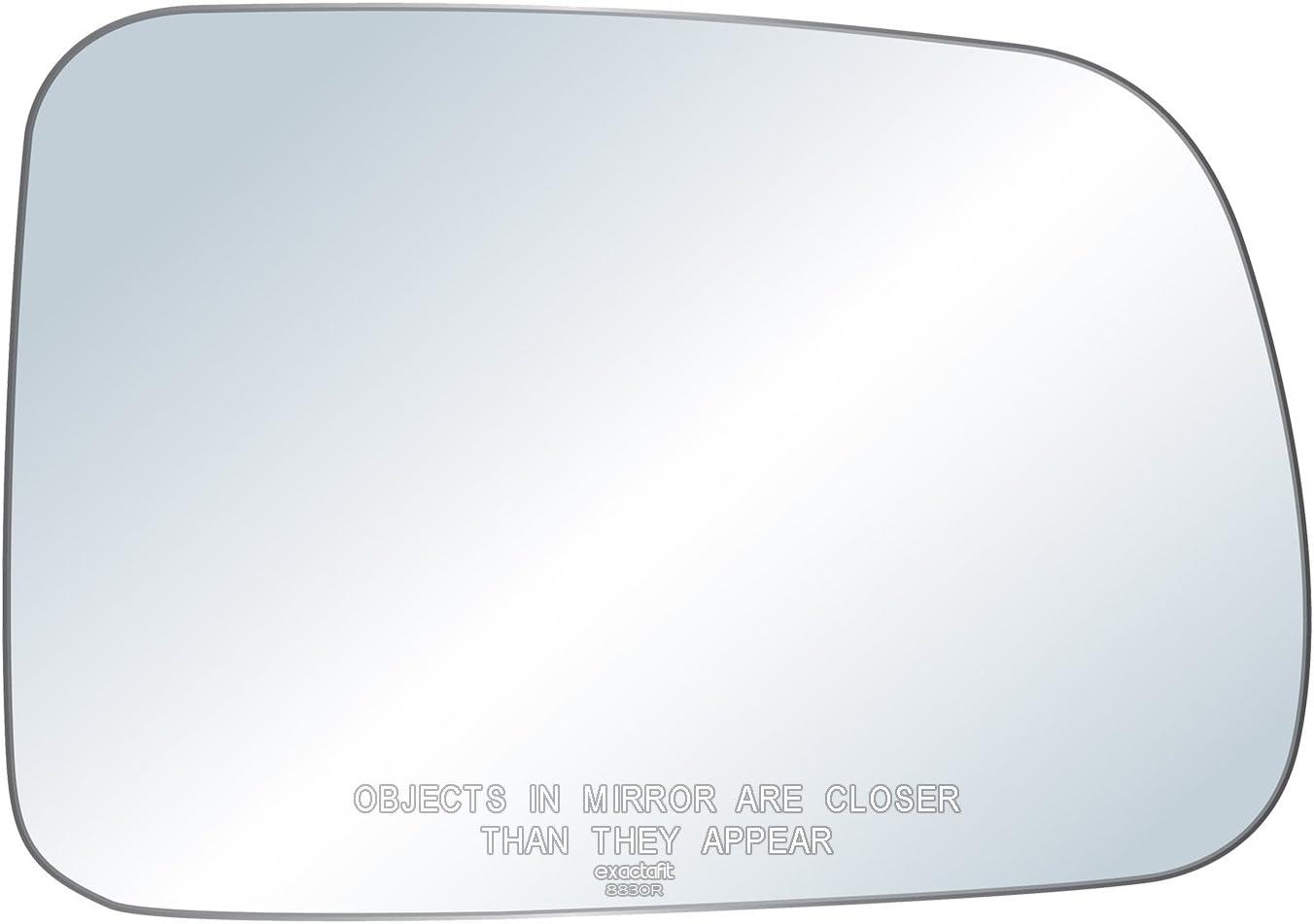 exactafit 8830R Right Passenger Side Mirror Replacement Glass Fits 1997-2006 Honda CR-V CRV