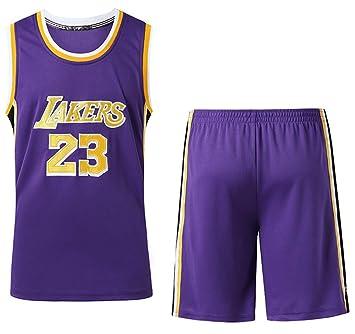 FDRYA NBA Camiseta de Baloncesto para Hombre Lakers # 23 James ...