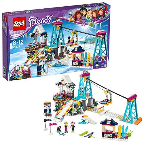 레고(LEGO) 후렌즈 하트 레이크 반짝반짝 스키 리조트 41324