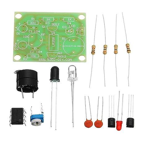WUX698 - Kit de 5 interruptores de Alarma antirrobo con ...