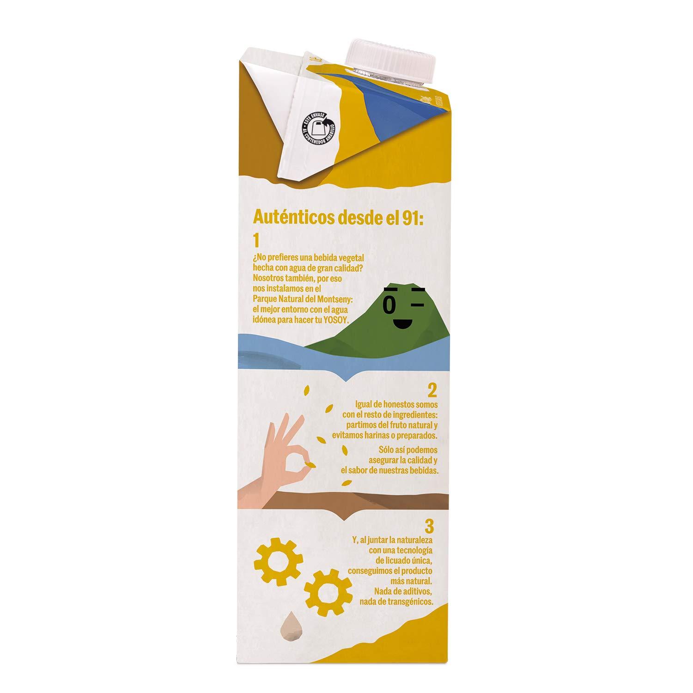 Yosoy - Bebida de Avena con Calcio - Caja de 6 x 1L