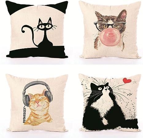 Cotton Cute Cushion Cover