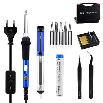 7-in-1 Elektrische Löten Werkzeug kit, gochange 60 W 220 V ...