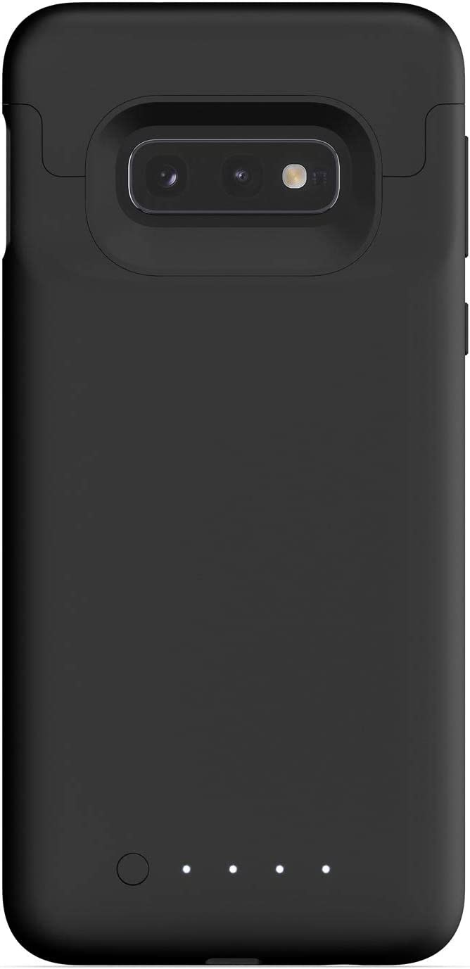 mophie Juice Pack Charging Case Wireless Charging Protective Battery Case for Samsung Galaxy S10+ High-Impact Protection