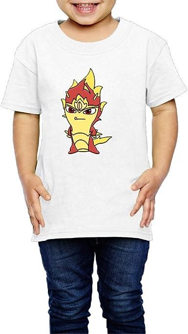 Roy Aventura Cartoon Slugterra único Logo T camisas: Amazon.es: Libros