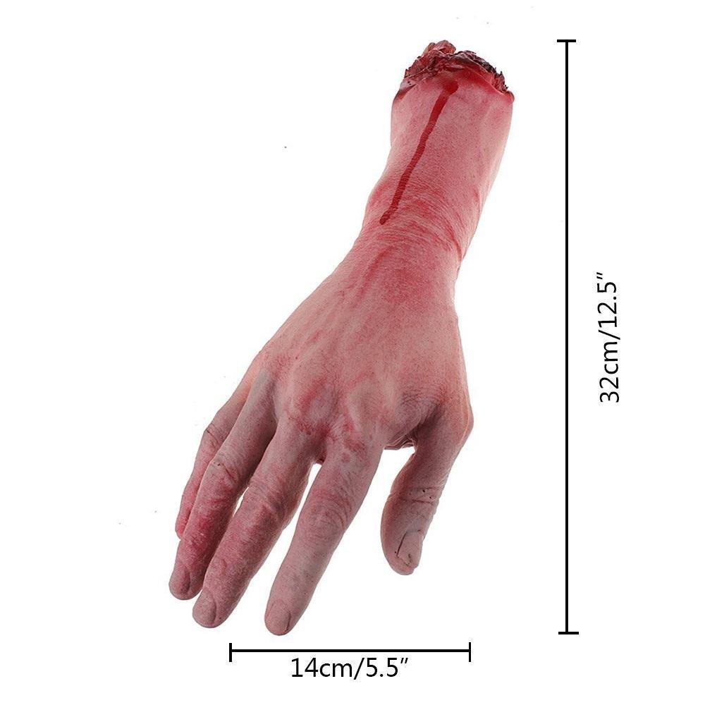 MOCHO AM Realistico sanguinante di lattice Dimensione del sangue Vita umana Ansia sanguinante Partito del corpo di sangue Festa di Halloween Accessori all'aperto e giochi di ruolo Decorazione 1pcs MOCHOAM