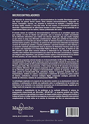Ejercicios de programación con microcontroladores PIC: Amazon.es: CARLOS RUIZ ZAMARREÑO: Libros