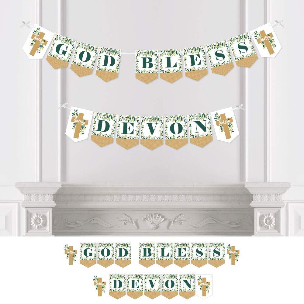 Amazon.com: Big Dot of Happiness - Banderines personalizados ...