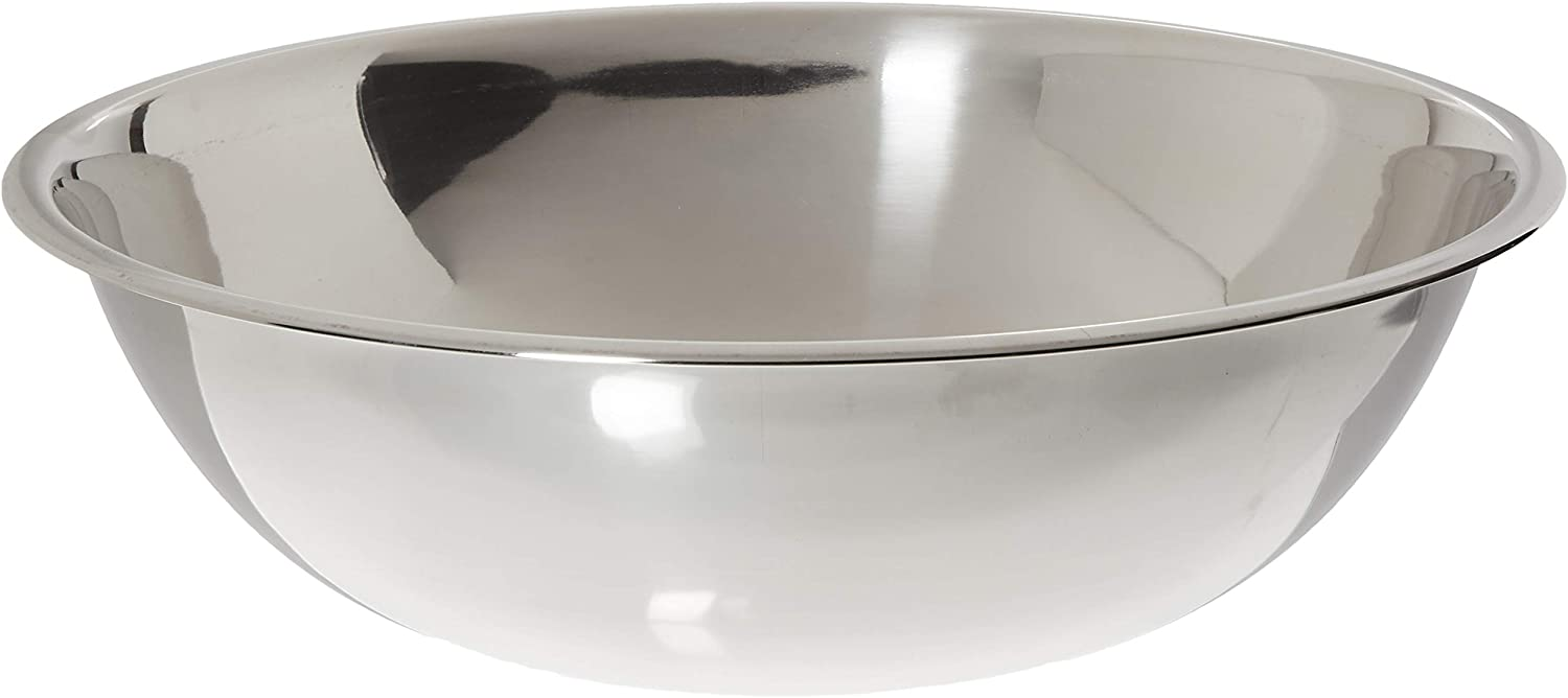 Crestware 16-Quart Stainless Steel Mixing Bowl