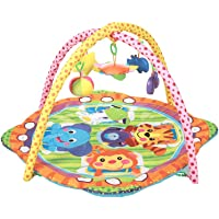 Mee Mee Baby Play Gym Mat, Versatile - Party Animals, Multicolor