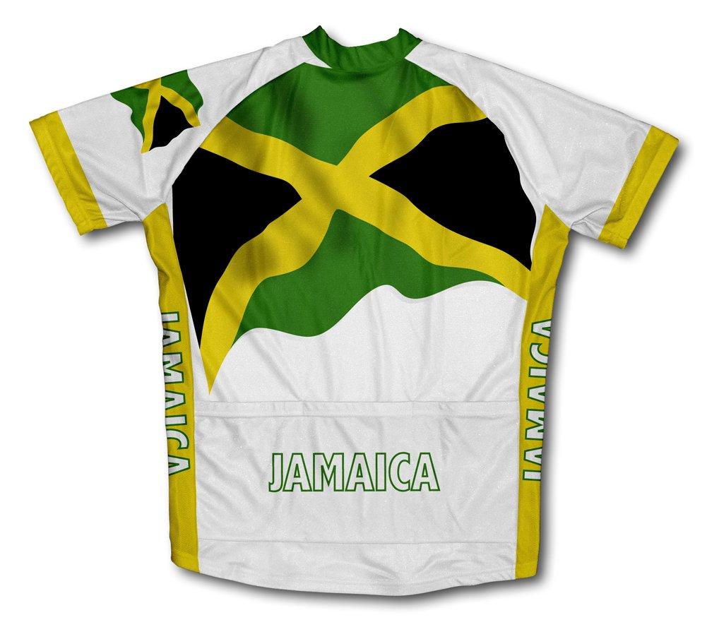 Flag it corte Amazon Jamaica uomo a da per maniche Maglie ciclismo vxdcdwA4Fq