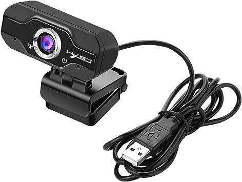 MagiDeal S70 hxsj Webcam HD Webcam con Mic USB 1080P Clip-on para Ordenador Funciona con Smart TV, Android Box TV, Skype, MSN, FaceTime: Amazon.es: Electrónica