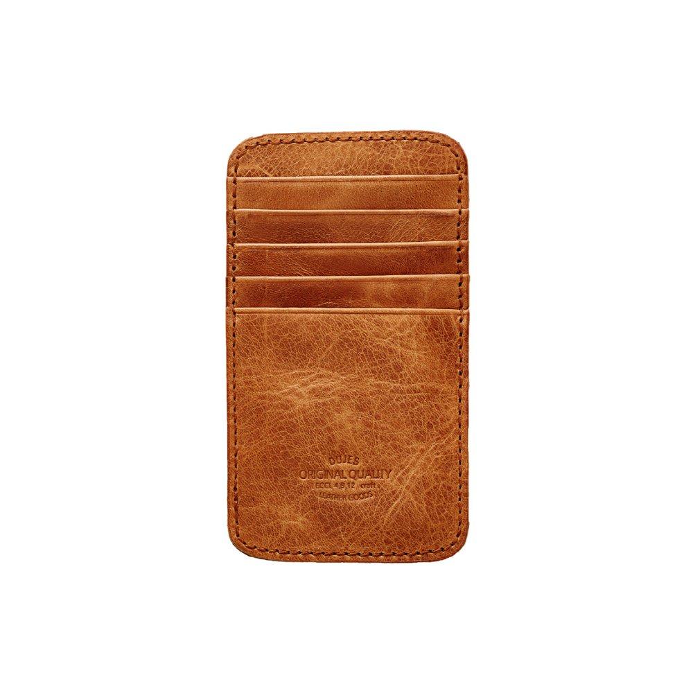[DUJES] Vertical Card Wallet JB812-003 Credit Card Business Card Holder (NATURAL)