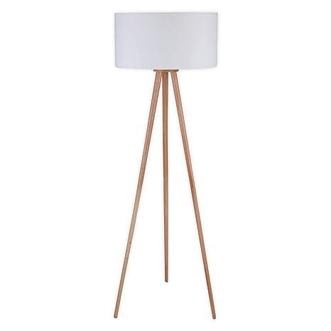 Lámpara de pie Charlia (Escandinavo) en Blanco hecho de ...