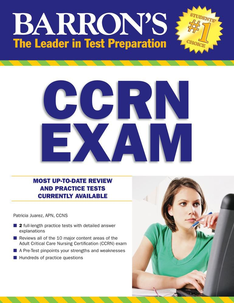 Barron's CCRN Exam with Online Test by Barrons Educational Series