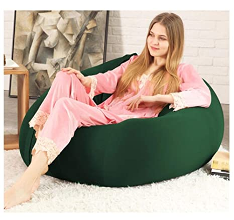 TongN-Sillones Suave algodón Lazy Couch Bean Bag Tatami ...