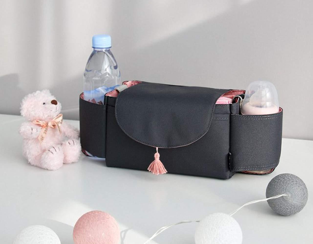 Baby Stroller Bag Large Capacity Mommy Stroller Accessories Storage Storage Bag