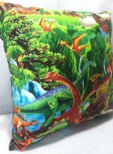 Novelty Accent Throw Pillow Dinosaur Jurassic by Group One Home®