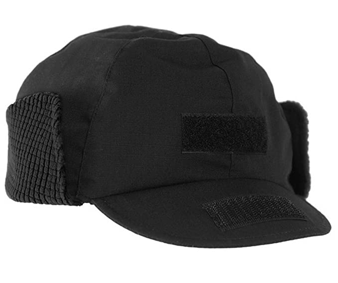 5e48737b30f Mil-Tec BW Winter Hat Gen II Black at Amazon Men s Clothing store