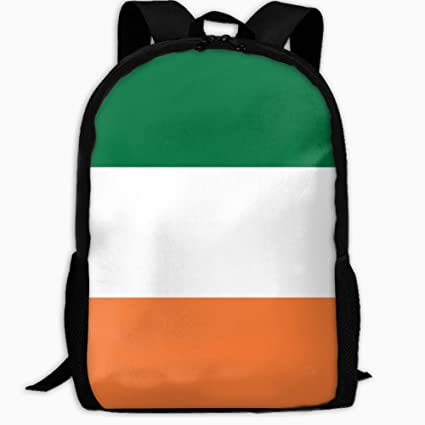 d1facdee7b Image Unavailable. Image not available for. Color  Children s School  Backpack Irish Flag Outdoor Travel Backpack Students Backpacks Kids Book  Bags ...