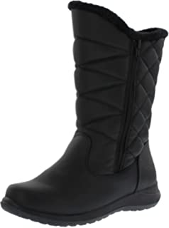 fd54b3d86db Khombu Women s Carly Dual Side Zipper Snow Boots(Also Available in Wide  Width)