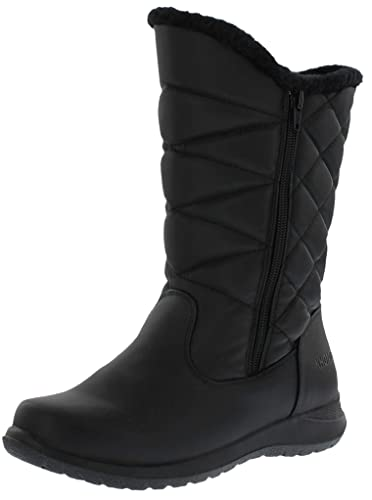 61e62ce2b Khombu Women's Carly Dual Side Zipper Snow Boots(Also Available in Wide  Width)