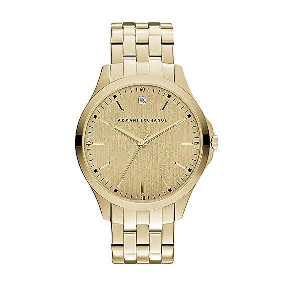 8af084dc AX Armani Exchange Men's Hampton Gold Watch