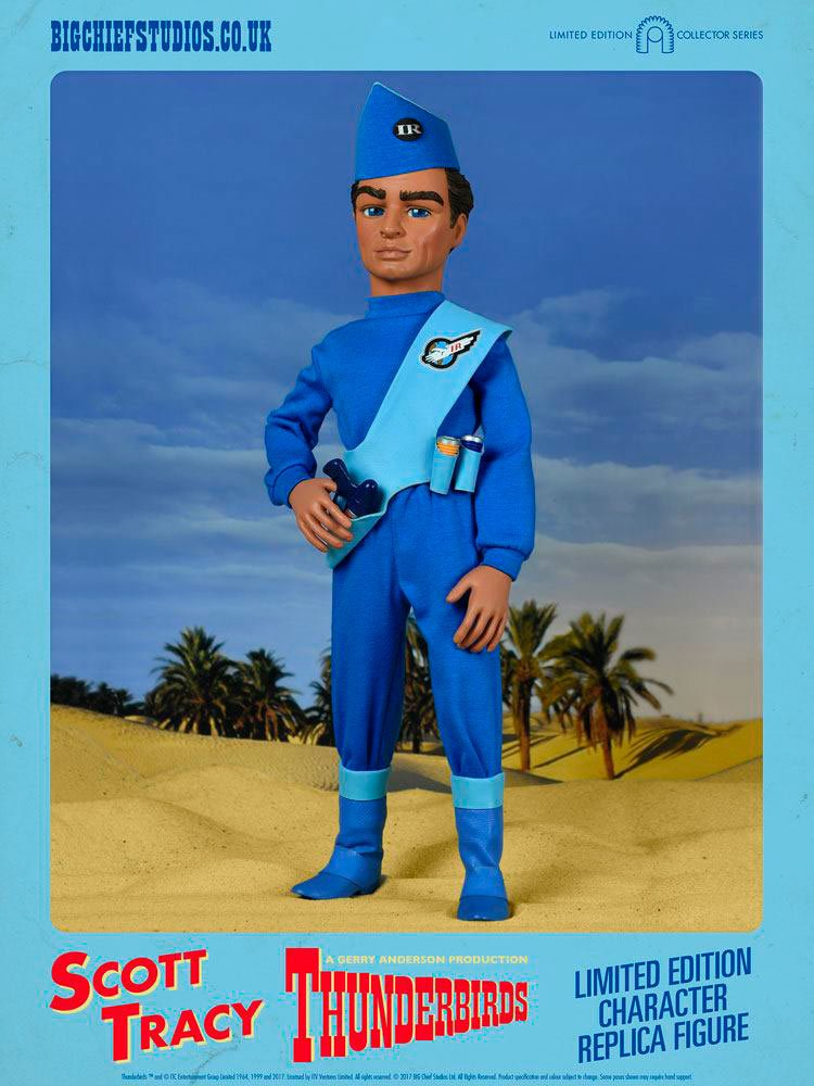 Big Chief Studios Thunderbirds Scott Tracy 1 6 Scale Collectible Figure