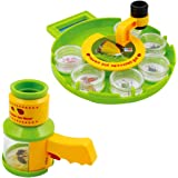 Bug Catcher Collection Viewer Set, Microscope Insect Magnifier And Nature Exploration Science Toys For Children Kids, Living Field Adventure Insert Collection Case for Little Critters