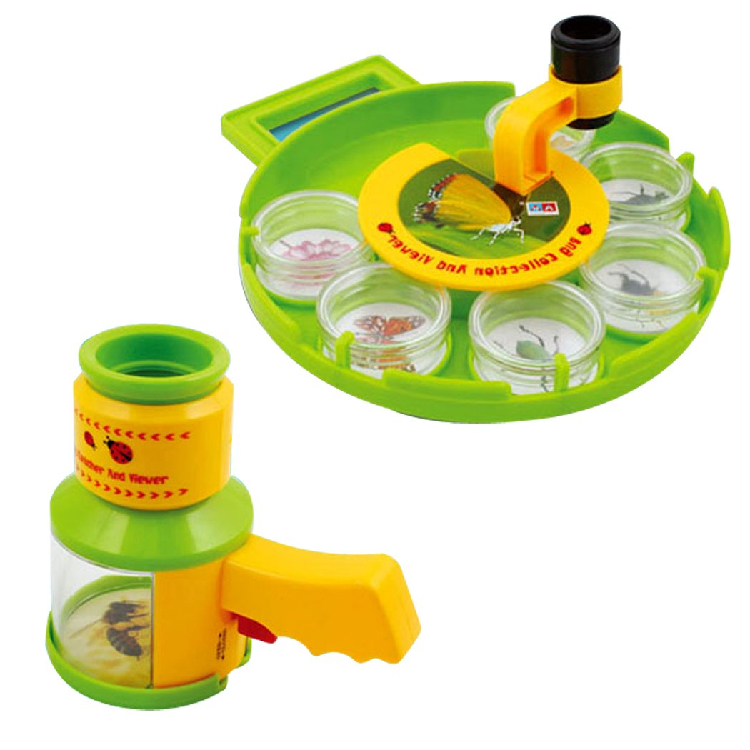 amazon com bug catcher collection viewer set microscope insect