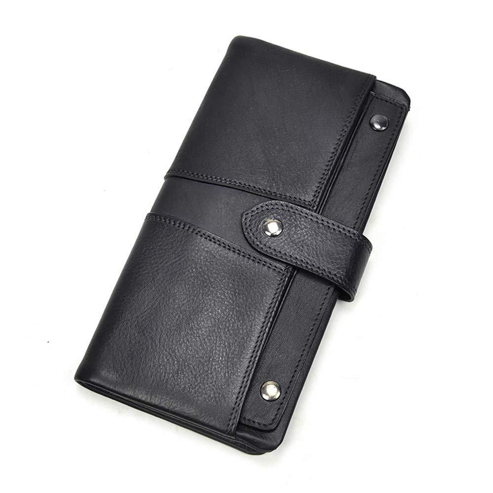 Sumferkyh Brieftasche Men's Large Capacity Leder Geldbörse Boutique Multi-Layer-Karte Cash Holder Change Coin Purse Ledergeldbörse für Krotitkarten, Ausweise (Farbe   Braun) B07M5MT7R3 Geldbrsen