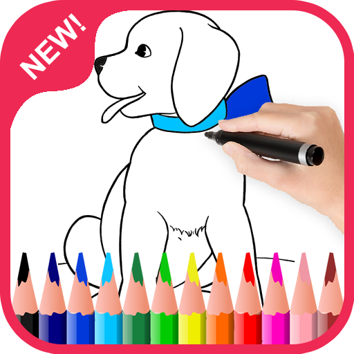 Coloring Pet Animal For Kids