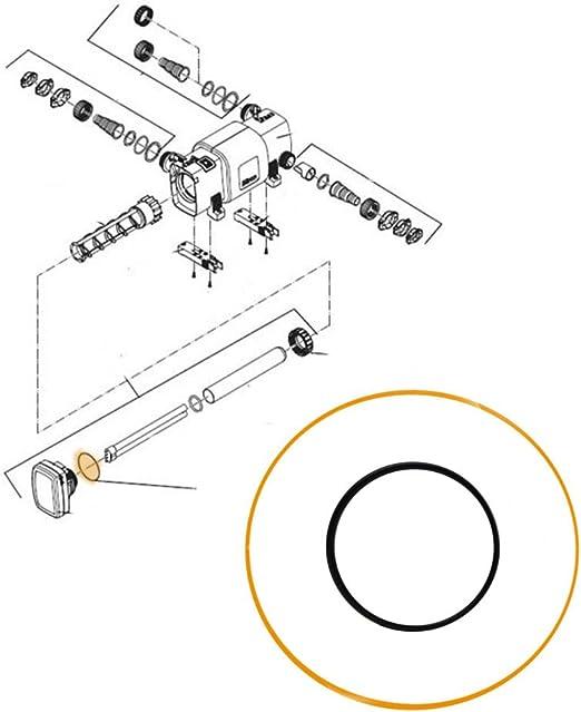 Innen /Ø:27,00mm Schnur/Ø:4,50mm Werkstoff:NBR O-Ring 70A 70A NBR 27,00x4,50 mm