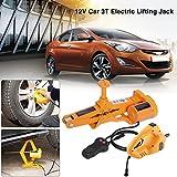 Yosoo 3 Ton 12V DC Automotive Electric Jack Lifting Car SUV Emergency Equipment w/Impact Wrench