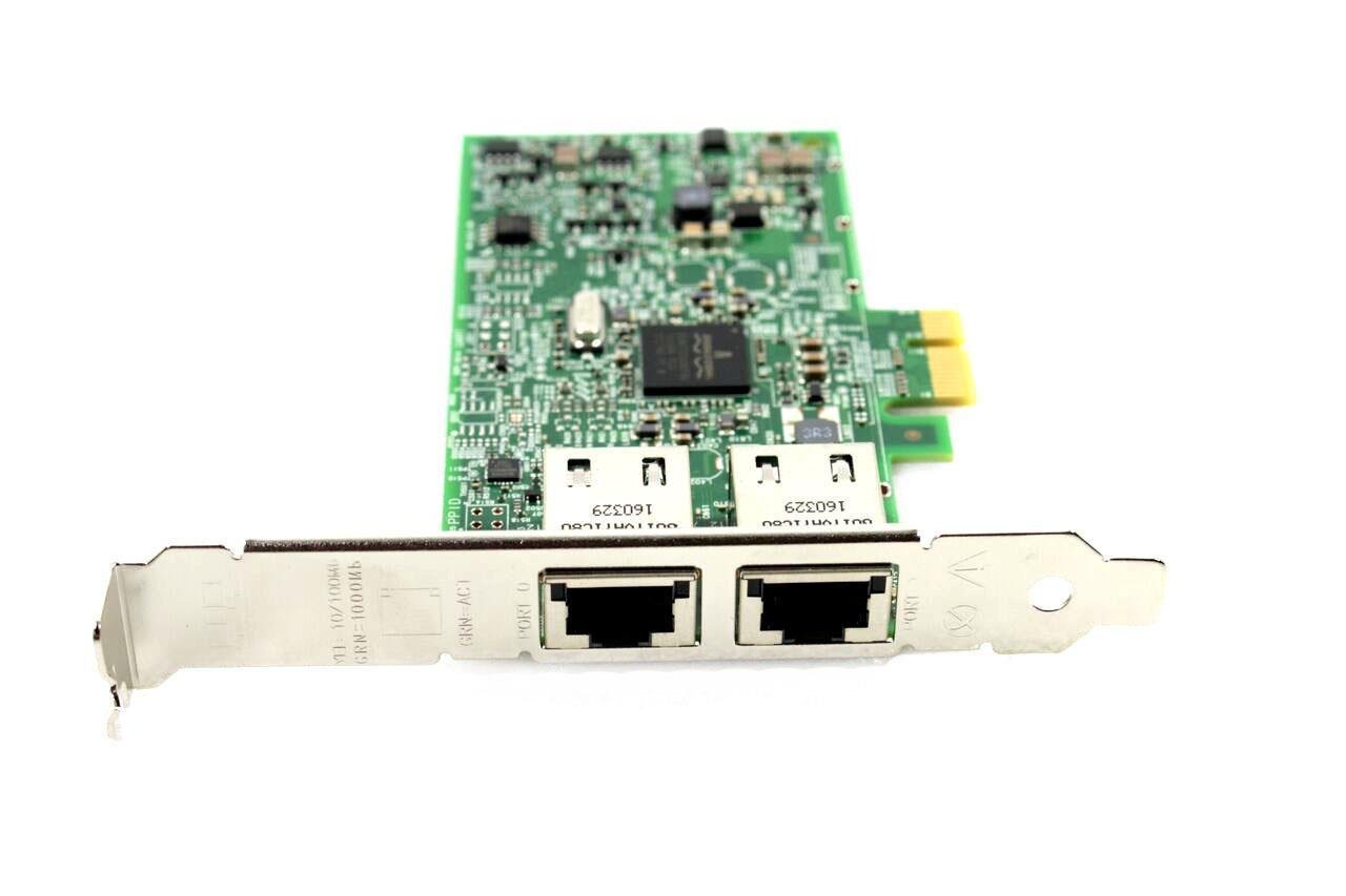 Dell PowerEdge T120 T320 T420 R220 T620 R420 R520 R620 R720 2 RJ-45 Ports PCI Express 1Gbps Ethernet Network Adapter Card 0FCGN 00FCGN CN-00FCGN