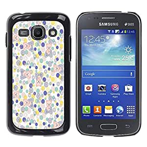 - Floral Pink Pattern - - Fashion Dream Catcher Design Hard Plastic Protective Case Cover FOR Samsung Galaxy Ace 3 Retro Candy