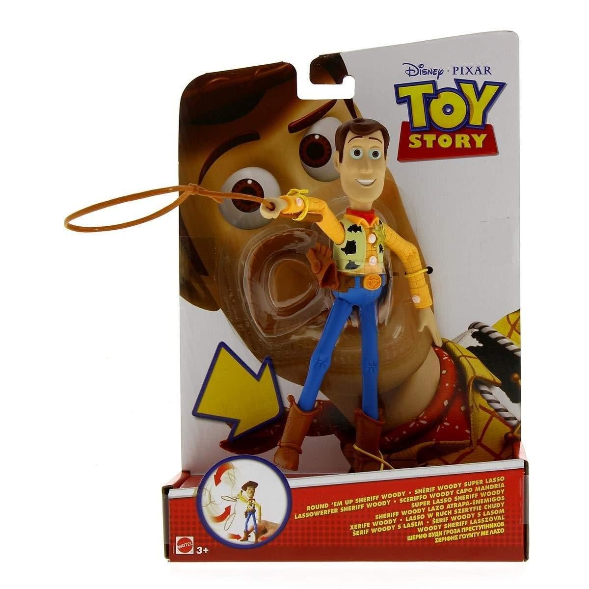 5af36e7d8ae58 Mattel Toy Story Figura Woody Lazo Atrapa Enemigos  Amazon.es  Juguetes y  juegos