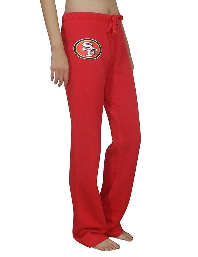 Rosa Victoria de SECRET SF 49ers para mujer Lounge/Otoño/Invierno Pantalones de pijama, Rojo: Amazon.es: Deportes y aire libre