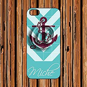 Customize with your name - Apple iPhone 5 / 5S Case New zigzag Design - AArt CN001