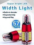 2 Pcs LED T10 5W Super White Canbus DRL Signal Interior Lights Lamp Led Car Bulbs Car Light Source Parking 12V