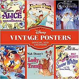 12x12in #129455 Disney Classic Official 2021 Calendar Mickey Mouse
