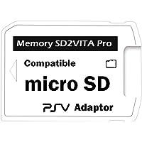 LEXINCHENG SD2VITA Pro - Adaptador Pro 5.0 para tarjeta de memoria PS VITA 3.60 Henkaku Micro SD PSVITA (cobertura…