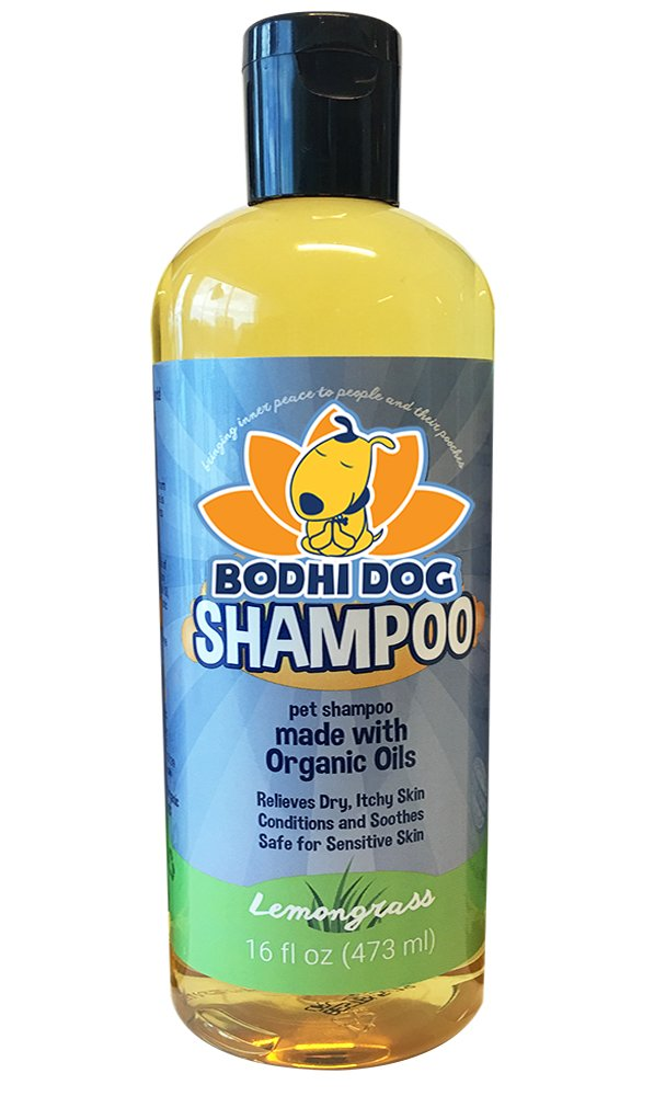 Organic Dog Shampoo   Soothing All Natural Hypoallergenic Pet Shampoo Dogs & Cats   Certified to USDA Food Standards   100% Non-Toxic   Made in USA - 1 Bottle 16oz (473ml)