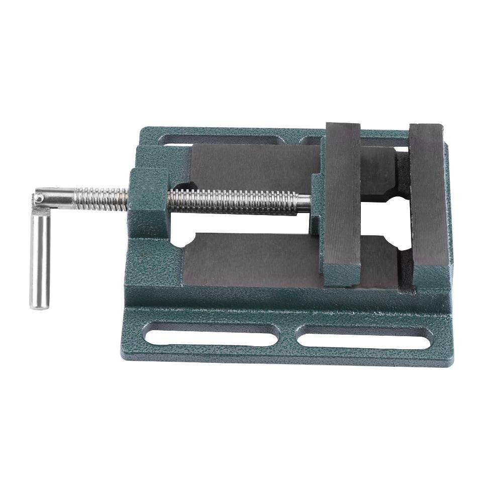 Vice Milling Machine Vice Drill Clamp Samfox Heavy Duty 4-inch Open-end Drilling Machine