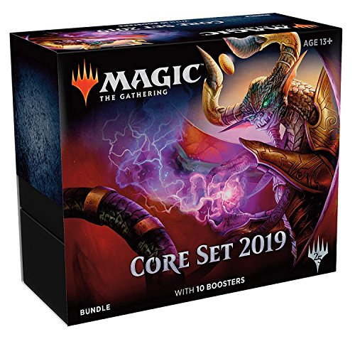 MTG Magic Core Set 2019 Bundle: 10 booster packs + (Bundle Set)
